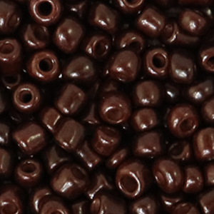 Rocailles 4mm rocky road brown