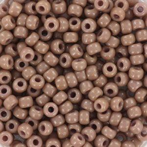 Miyuki rocailles duracoat opaque beige 4455