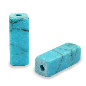 Natuursteen tube turquoise blue marmer