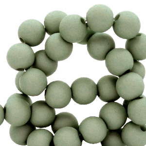 Acryl kralen 8mm iceberg green