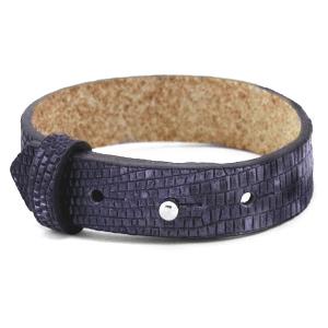 Cuoio armband 15mm mystical purple