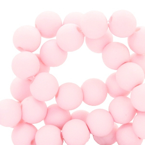 Acryl kralen 4mm light pink
