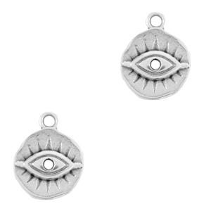 DQ bedel oog zilver