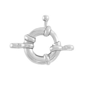DQ boeislot 13mm zilver
