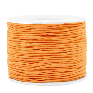 Elastiek 1.2mm paradise orange
