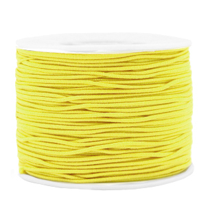 Elastiek 1.2mm yellow
