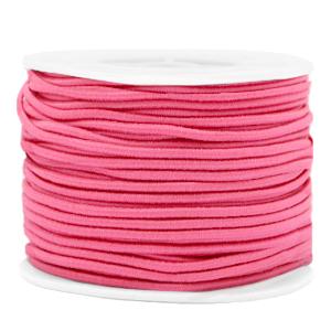 Elastiek 2mm azalea pink