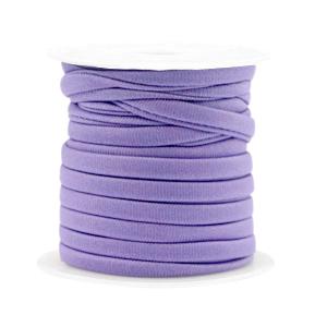 Elastisch Ibiza lint 4mm dark lilac