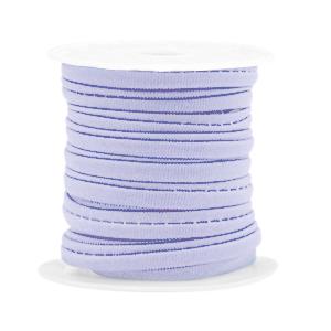 Elastisch Ibiza lint 4mm lilac