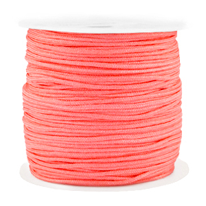 Macramé draad 1.5mm coral red
