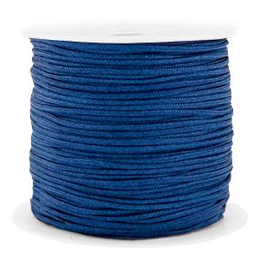 Macramé draad 1.5mm dark blue