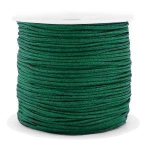 Macramé draad 1.5mm dark green