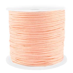 Macramé draad 1.5mm peach