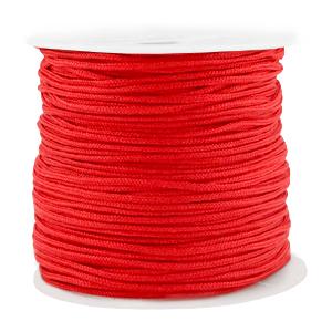 Macramé draad 1.5mm red