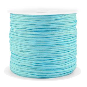 Macramé draad 1.5mm turquoise blue