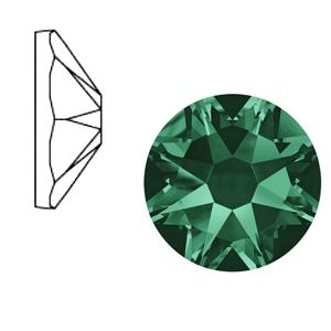 Swarovski steen 7mm emerald green