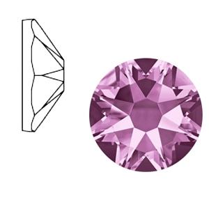 Swarovski steen 7mm light amethyst purple