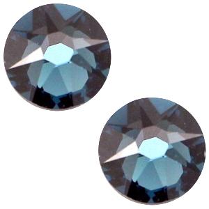 Swarovski steen 7mm montana blue