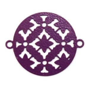 Bohemian tussenstuk rond aubergine purple