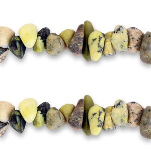 Chip stone kralen calliste green