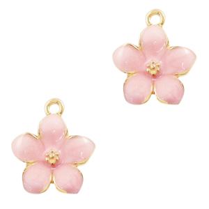 Bedel bloem luxe roze goud