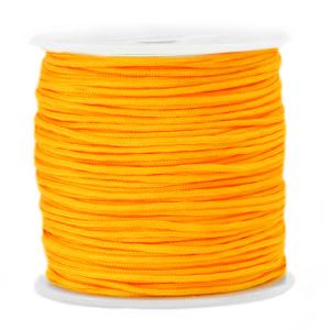 Macramé draad 1.5mm saffron yellow