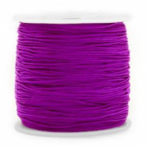 Macramé draad 1mm soft grape purple