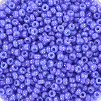 Miyuki rocailles opaque dyed bright purple