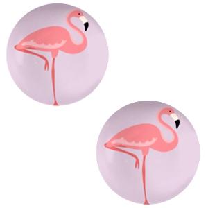 Cabochon 20mm flamingo lilac purple