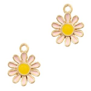 Bedel bloem daisy roze goud