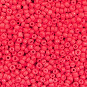 Rocailles 2mm azalea red