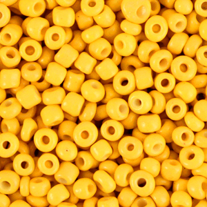 Rocailles 3mm freesia yellow