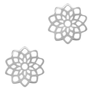 Stainless steel bedel tussenstuk bloem