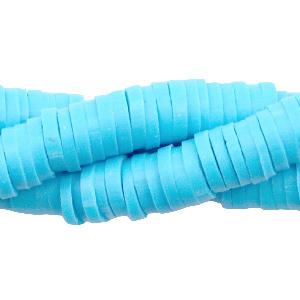 Streng katsuki kralen 6mm lichtblauw