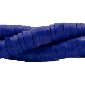 Streng katsuki kralen 6mm navy blauw