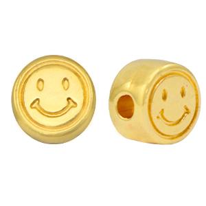 DQ kraal smiley goud