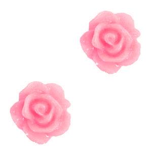 Roosje kraal hot pink