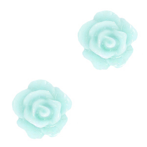 Roosje kraal light turquoise blue