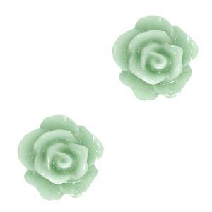 Roosje kraal sea green