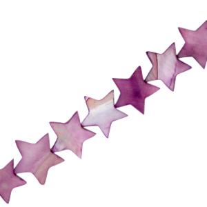 Schelp kraal ster purple