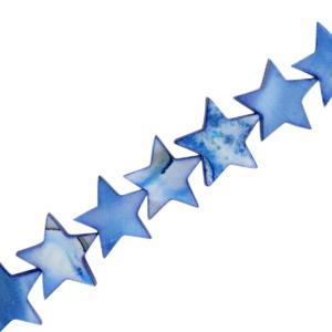 Schelp kraal ster royal blue