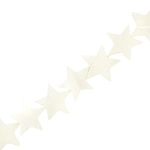 Schelp kraal ster white