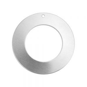 ImpressArt bedel cirkel 30mm zilver