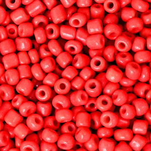 Rocailles 3mm amaranth red