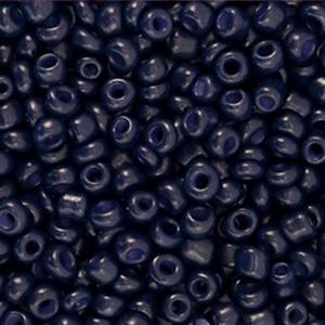 Rocailles 3mm dark blue