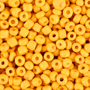 Rocailles 3mm radiant yellow
