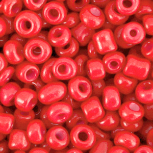 Rocailles 4mm amaranth red