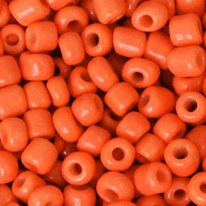 Rocailles 4mm fiery orange