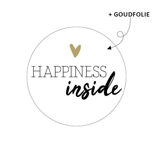 Sticker happiness inside
