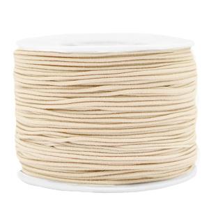 1.5mm elastiek beige